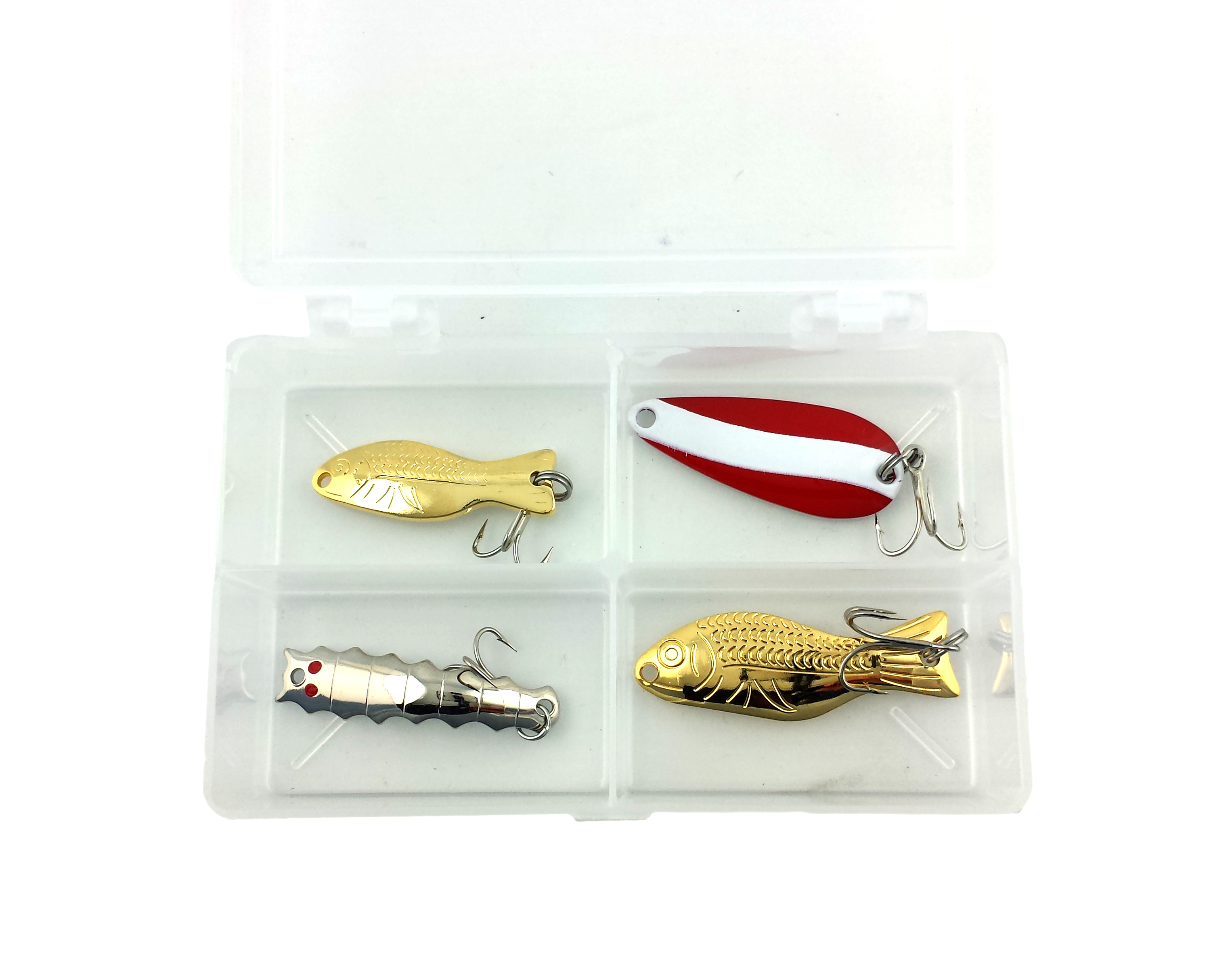 Al 39 s goldfish promotional fishing lures 027 trout kit for Fishing lure kits